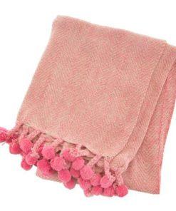 manta rosa espiga